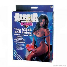 Alecia szexbaba, a fekete szépség guminő