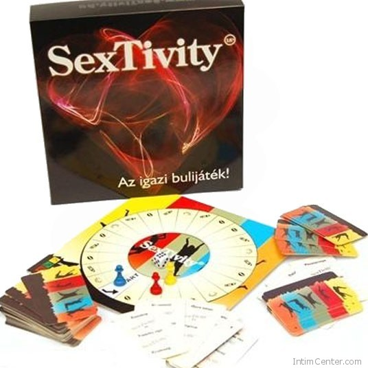 Szex társasjáték pároknak SexTivity, újítsatok játékosan a szexen