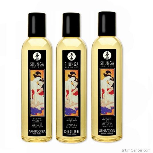 Shunga masszázsolajok többféle illatban