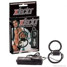 Péniszgyűrű rezgő X-factor férfiak és nők örömére, pénisz izgató vibrátoros