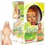 Jade luxus szerelembaba, realisztikus puncival, mellel, szájjal