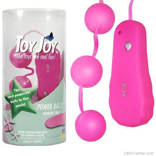 Vibrátoros golyó, rózsaszínű 3 db-os ToyJoy