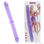 Twinzer, rugalmas kétvégű dildó páros szexjátékokhoz