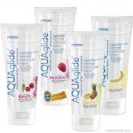 Aqua Glide gyümölcsös síkosítók, 100 ml