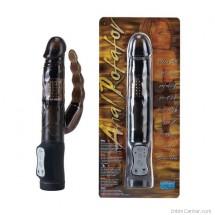 Anál rotátor vibrátor, kétágú uniszex vibri 15 cm