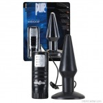 Vízálló, vibrációs, fekete anális segédeszköz