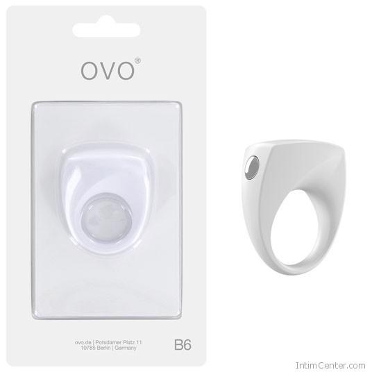 Vibrátros péniszgyűrű, Ovo B6 modern letisztult forma