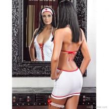 Szexis, elől fűzős nővérke fantázia ruha a Khimerától