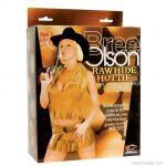 Felfújható cowgirl szexbaba, Bree Olson pornósztár