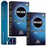 MySize 10 darabos kondom csomagok