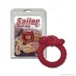 Vitorlás csomót mintázó péniszgyűrű szilikonból, Sailor Ring