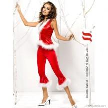 Mikulásruha szexi jelmez szett Santa Lady