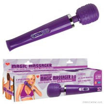 Vibrátoros masszírozó, tölthető Magic Massager