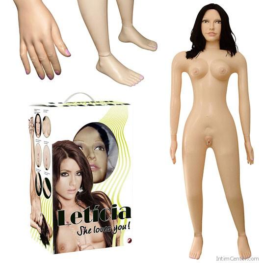 Szexbaba élethű loveclone lyukakkal, Leticia kézzel és lábfejjel