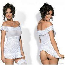 Szexi ruha, átlátszó csábító csipkével, Obsessive Flores hálóing
