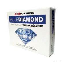Potencianövelő kapszula Blue Diamond, férfiaknak 4 db
