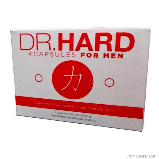 Dr Hard For Men potencianövelő kapszula 4 db