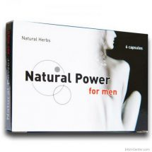 Natural Power For Men potencianövelő kapszula 6 db