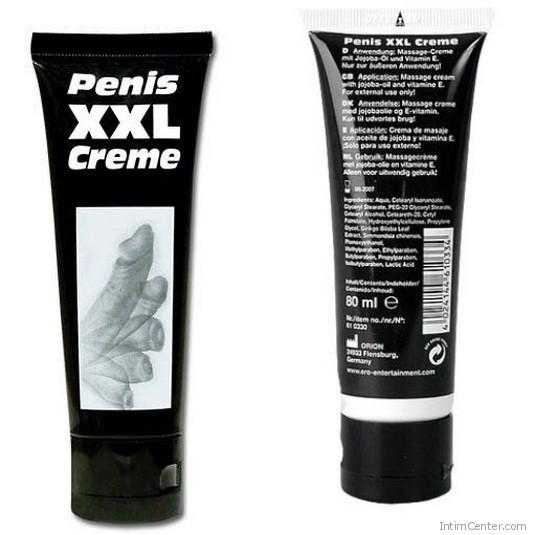 Pénisz XXL erekció és pénisznövelő krém férfiaknak