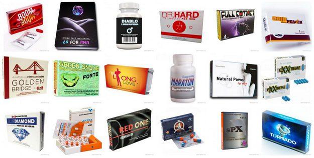 Potencianövelő szerek és táplálék kiegészítők