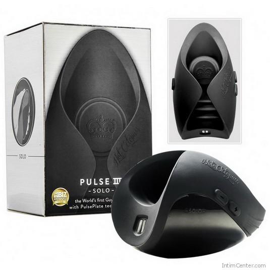 Pénisze való vibrátor, újratölthető Pulse Solo III