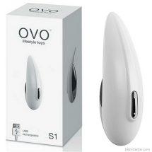 OVO S1 vibrátor masszírozó, masztizáshoz és csiklóizgatára