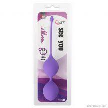 Gésagolyók See You 36 mm, szexgolyók élvezetekhez és hüvelyerősítéshez