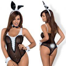 Nyuszi jelmez, 4 részes Obsessive bunny teddy