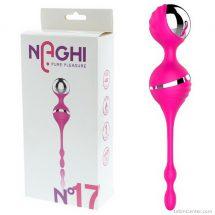 Vibrátoros gésagolyók, Naghi pure pleasure No17 kegel balls