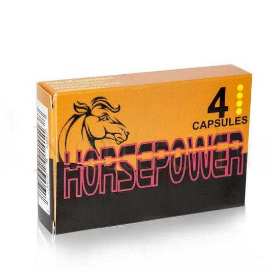HorsePower potencianövelő  4 db-os természetes férfi erő