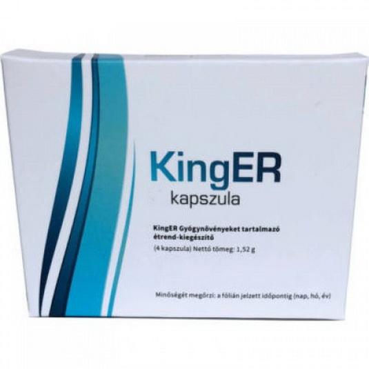 Kinger férfierő javító készítmény, potencianövelő hatással 2 db