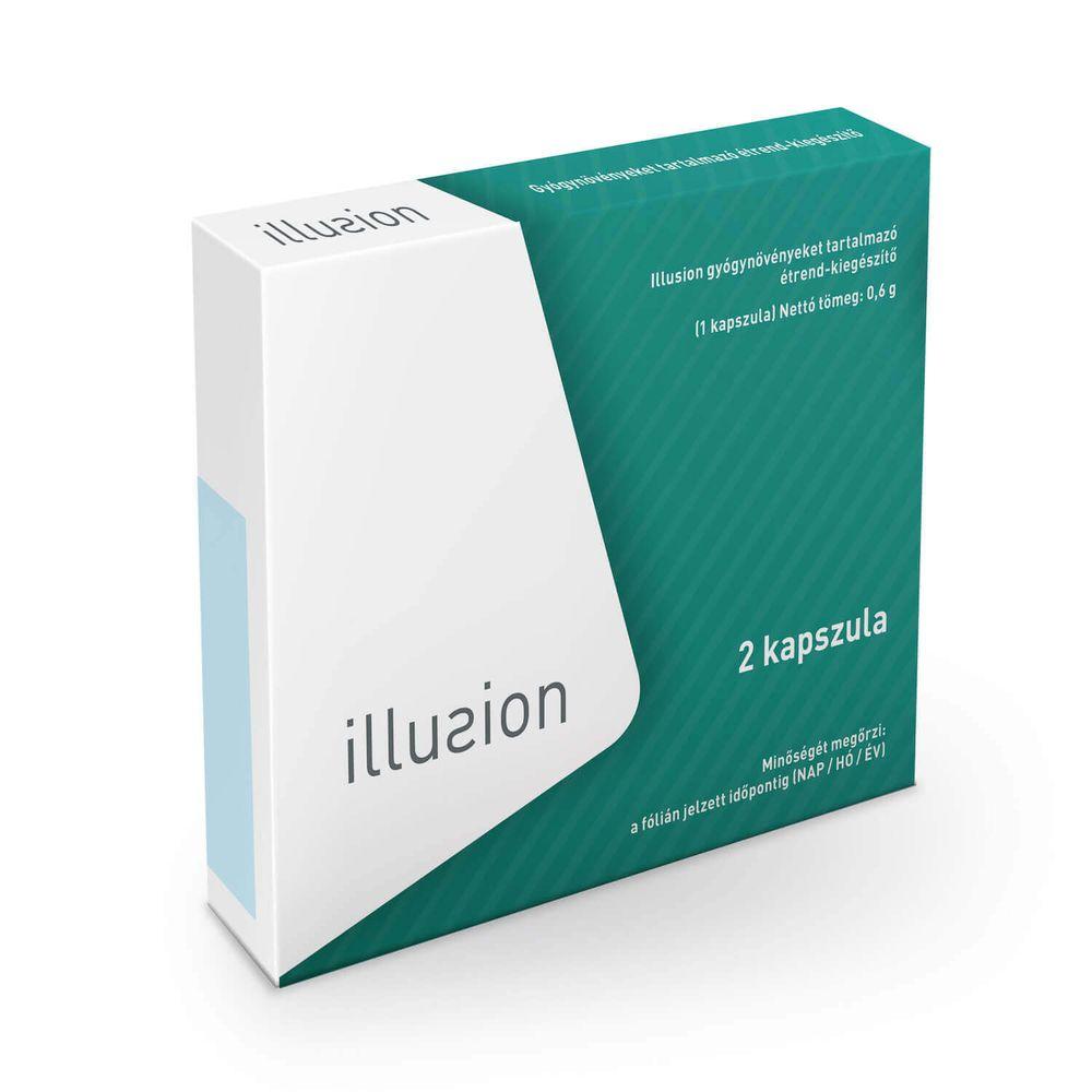 Illusion potencianövelő, 2 kapszula a stabil erekcióért