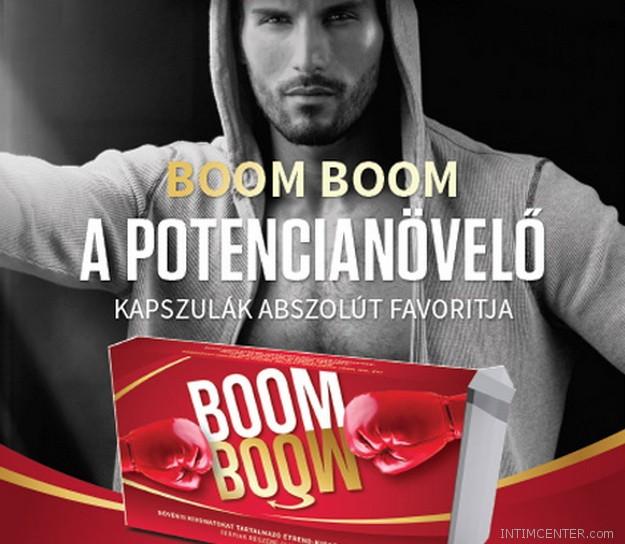 Boom Boom potencianövelőt az INTIM CENTER szexshopban vásárolj vagy rendelj