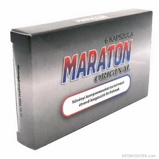 Maraton original potencianövelő a tartós erekcióért 6 db